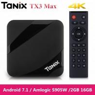 2131.84 руб. |Tanix TX3 Max Smart tv Box android 7,1 Qual core 4 K Amlogic S905W 2 Гб 16 Гб комплект bluetooth top Box HDMI медиа плеер на TX3 Mini-in ТВ-приставки from Бытовая электроника on Aliexpress.com | Alibaba Group