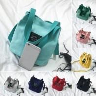 Женская холщовая сумка-мессенджер, мини-сумка через плечо, женская школьная сумка для шоппинга, дорожные сумки - Сумчатый Aliexpress