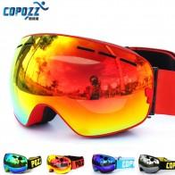 1521.8 руб. 30% СКИДКА|COPOZZ брендовые лыжные очки двухслойные UV400 Анти туман большой Лыжная маска очки на лыжах мужские и женские зимние очки для катания на сноуборде GOG 201 Pro купить на AliExpress