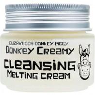Купить Elizavecca крем для снятия макияжа Donkey Piggy, 100 г по низкой цене с доставкой из маркетплейса Беру