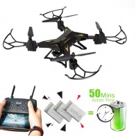 US $37.73 49% OFF|T Rex RC Helicopter Drone with Camera HD 1080P WIFI FPV RC Drone Professional Foldable Quadrocopter Long Battery Life-in RC Helicopters from Toys & Hobbies on Aliexpress.com | Alibaba Group