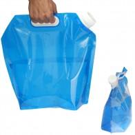 121.63 руб. 5% СКИДКА|5L PE сумка для воды для портативного складываемый бак для воды подъемный мешок для кемпинга путешествие на выживание гидратации хранения мочевого пузыря 30*32,5 см-in Мешки для воды from Спорт и развлечения on Aliexpress.com | Alibaba Group