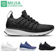 US $40.99 10% OFF|Xiaomi Original Mijia Smart Sports 2 Sneaker Uni moulding Techinique Fishbone Lock System Elastic Knit Vamp Shock absorbing Sole-in Smart Remote Control from Consumer Electronics on Aliexpress.com | Alibaba Group