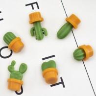 Супер милый мини-магнит на холодильник С КАКТУСОМ, 3 шт., мощный магнит, домашний декор для холодильника, доска объявлений, наклейка на кнопку... - Прикольные магниты на холодильник