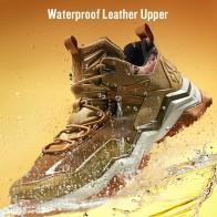 3261.34 руб. 46% СКИДКА|RAX Для мужчин; водонепроницаемые туристические ботинки Для женщин восхождение походы ботинки Мужская Уличная обувь нескользящие горные кроссовки Для мужчин купить на AliExpress