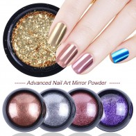 US $1.24 40% OFF|0.3g Rose Gold Pearl Nail Mirror Powder Glitter Maggic Mirror Effect Holographic Nail Gel Polish Manicure Nail Art Design LA916-in Nail Glitter from Beauty & Health on Aliexpress.com | Alibaba Group