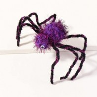 Toddler Girls Halloween Spider Decor Hair Clip - Costumes for kids