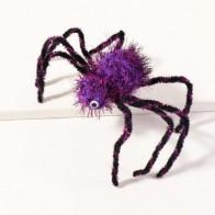 Toddler Girls Halloween Spider Decor Hair Clip