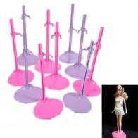164.85 руб. 15% СКИДКА|5 шт./партия, подставка для игрушки для кукол, для девочек, поддерживает бутафорский манекен, модель, держатель дисплея, пластик, розовый, красный и фиолетовый цвета-in Куклы from Игрушки и хобби on Aliexpress.com | Alibaba Group