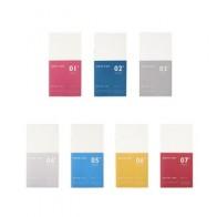 Креативный классический переполняющий блокнот для путешествий внутренний бумажный сердечник: сетка, линия, пустая, ежемесячный еженедельн... - Канцелярочка