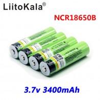 197.23 руб. 23% СКИДКА|Liitokala 18650 3400 мАч Новый Оригинальный NCR18650B 3000 3400 литий ионный аккумулятор для фонарика-in Подзаряжаемые батареи from Бытовая электроника on Aliexpress.com | Alibaba Group