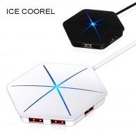 586.56 руб. 25% СКИДКА|ICE COOREL USB 3,0 2,0 концентратор высокая скорость внешней 6 Порты и разъёмы Usb разветвитель с микро Usb Интерфейс SD/TF Card Reader для портативных ПК-in USB-хабы from Компьютер и офис on Aliexpress.com | Alibaba Group