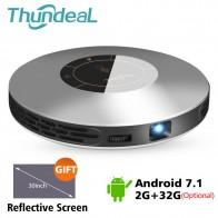 14676.42 руб. 20% СКИДКА|ThundeaL DLP проектор T18 обновление до T18 Max WiFi Android 7 Pico Карманный HDMI для 4 K 16G 32G Мини СВЕТОДИОДНЫЙ Proyector 3D T18MAX Beamer-in Проекторы для домашнего кинотеатра from Бытовая электроника on Aliexpress.com | Alibaba Group