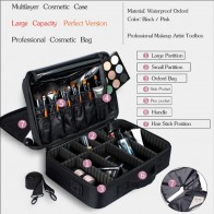 US $8.31 46% OFF|SAFEBET Brand Women High Quality Waterproof Oxford Large Multi Storey Professional Makeup Organizer Bolso Mujer Cosmetic Case-in Cosmetic Bags & Cases from Luggage & Bags on Aliexpress.com | Alibaba Group