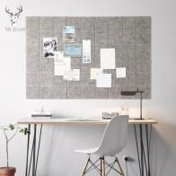 Фетровая доска в скандинавском стиле с буквенным принтом, доска для объявлений, домашний декор, Офисная доска для планирования расписания, ...