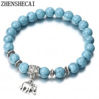 US $0.45 49% OFF|2018 Bracelet Classic Acrylic Blue Beaded Bracelets for Men Women Best Friend Hot popular A56-in Strand Bracelets from Jewelry & Accessories on Aliexpress.com | Alibaba Group