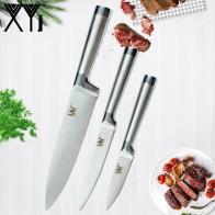 377.37 руб. 72% СКИДКА|XYj абсолютно нож из нержавеющей стали бесшовная Сварка кухонная утварь 8