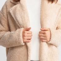 Женское пальто Dilvin ME-101A06811_Açık Bej - Пальто пастельных тонов