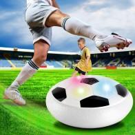 452.84 руб. 55% СКИДКА|Funny LED Light Flashing Ball Toys Air Power Soccer Balls Disc Gliding Multi surface Hovering Football Game Toy Kid Chidren Gift купить на AliExpress