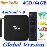 1522.95 руб. 25% СКИДКА|Smart tv Box Android 9,0 Tanix TX6 Allwinner H6 4 Гб ram 64 Гб rom 32G 4 K 2,4G/5 ГГц Dual WiFi BT 2G16G PK T95 HK1 MAX медиаплеер-in ТВ-приставки from Бытовая электроника on Aliexpress.com | Alibaba Group