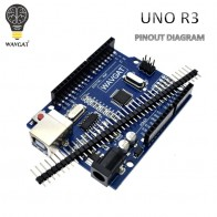 US $0.88 11% OFF|WAVGAT high quality UNO R3 MEGA328P CH340G for Arduino Compatible NO USB CABLE MEGA 2560.-in Integrated Circuits from Electronic Components & Supplies on Aliexpress.com | Alibaba Group