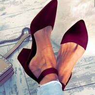 629.72 руб. 30% СКИДКА|Для дам и девушек откровенное Бандажное, для вечеринки Ремешок на щиколотке осенние сандалии обувь Большие размеры 34–42 женская обувь с острым носком из флока; Босоножки на высоком каблуке-in Женские сандалии from Туфли on Aliexpress.com | Alibaba Group