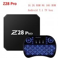 2714.68 руб. |Обновление Z28 pro Android 7,1 ТВ коробка 1Г 2Г сети/8G 16G RK3328 Quad core 2,4 ГГц Wi Fi, H.265 HDMI смарт Декодер каналов кабельного телевидения медиаплеер PK X96-in ТВ-приставки from Бытовая электроника on Aliexpress.com | Alibaba Group