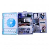 2224.43 руб. 15% СКИДКА|Elego UNO проекта наиболее полного Starter DIY Kit для Mega2560 UNO Nano с учебник/Питание/шагового двигателя купить на AliExpress