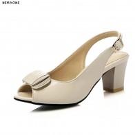Новые женские босоножки 2019 летние сандалии с открытым носком дамы Коренастый босоножки на высоком каблуке летнее платье женская обувь купить на AliExpress