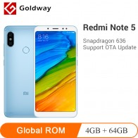 US $149.66 |Original Xiaomi Redmi Note 5 4GB 64GB Smartphone Snapdragon 636 Octa Core 5.99