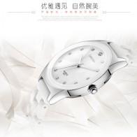 798.05 руб. 49% СКИДКА|Роскошные белые керамические водостойкие классические Легко читаемые спортивные женские наручные часы, бесплатная доставка наивысшего качества женские часы со стразами купить на AliExpress
