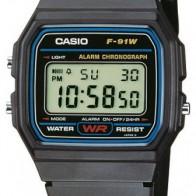 Купить Наручные часы CASIO F-91W-1YER по низкой цене с доставкой из маркетплейса Беру