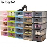 € 11.7 38% de DESCUENTO|Nueva caja de zapatos de moda transparente gruesa mejorada zapatillas de almacenamiento de organización de zapatos de tacón alto-in Cajas y recipientes de almacenamiento from Hogar y jardín on Aliexpress.com | Alibaba Group