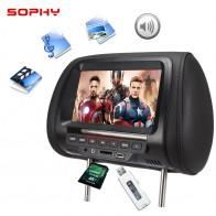 2372.37 руб. 26% СКИДКА|Универсальный 7 ми дюймовый к автомобильному подголовнику MP4 монитор/мультимедийный плеер/заднем сиденье MP4/USB/SD/MP3 MP5 FM встроенные динамики-in Мониторы для авто from Автомобили и мотоциклы on Aliexpress.com | Alibaba Group