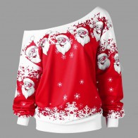 US $15.66 |New Stylish Sweaters Unisex Men Women Santa Xmas Sweater Pullovers Long Sleeve  Moose Christmas Novelty Ugly Retro Warm Sweater-in Pullovers from Women