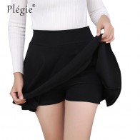 US $5.05 42% OFF|Plegie M 5XL Skirts Womens Plus Size Tutu School Short Skirt Pants Suitable For The Whole Year Mini Saia High Waist Faldas Mujer-in Skirts from Women