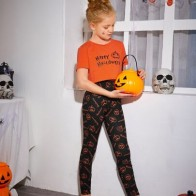 """Пижама с принтом """"Хэллоуин"""" для девочек - Хэллоуин для детей"""