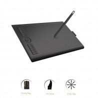 GAOMON M10K 2018 Version 10 x 6.25 Inches Art Digital Graphic Tablet for Drawing with 8192 Level Pen Pressure Passive Stylus-in Digital Tablets from Computer & Office on AliExpress