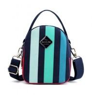 Женская мини-сумка через плечо, легкая, нейлоновая, практичная, портативная, в полоску - Сумчатый Aliexpress