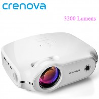 CRENOVA  Video Projector For Full HD 4K Home Theater Movie Projector With 3200 Lumens HDMI VGA AV USB Beamer Proyector-in LCD Projectors from Consumer Electronics on Aliexpress.com | Alibaba Group