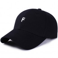 US $4.47 27% OFF|Baseball Cap for Man Snapback Hat Womens Summer Caps Letter F Embroidery Visor Sunhat Unisex Casual Streetwear Fitted Solid Hats-in Men
