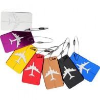 Багажные бирки из алюминиевого сплава, этикетки для багажа, почтовые марки для чемоданов, держатель для этикеток, аксессуары для путешестви... - По чемоданам