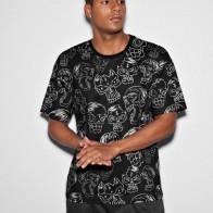 Мужская футболка с принтом черепа - Мужские образы на Хэллоуин
