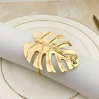 12 шт./лот высококлассное кольцо для салфеток в отеле с черепахой, зелеными листьями, Гавайские свадебные салфетки с пряжкой, вечерние свадеб... - Красивая кухня