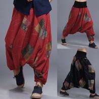979.55 руб. 40% СКИДКА|INCERUN мужские шаровары с этническим принтом, Большой промежность, дышащие мужские брюки, Ретро свободные фонари, длинные штаны, 2019, плюс размер 5XL-in Дамские шаровары from Мужская одежда on Aliexpress.com | Alibaba Group