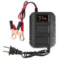 1012.25 руб. 21% СКИДКА|США штекер 12 в умный аккумулятор зарядное устройство светодиодный цифровой дисплей Быстрый 20A свинцово кислотный аккумулятор зарядное устройство для автомобиля Мотоцикл on Aliexpress.com | Alibaba Group