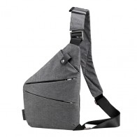 331.84 руб. 30% СКИДКА|Модная сумка на грудь для мужчин и женщин, повседневная Холщовая Сумка на грудь с защитой от кражи, сумки через плечо высокого качества, сумки на плечо купить на AliExpress