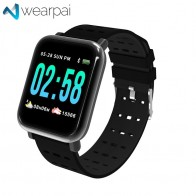 US $12.79 68% OFF|Wearpai A6 blood pressure Smart Bracelet large color screen fitness tracker Step Counter Activity Monitor smart watch for sport-in Smart Watches from Consumer Electronics on Aliexpress.com | Alibaba Group