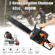 US $114.45 |Professional Chainsaw 20inch 4000W Bar Gas Gasoline Powered Chainsaw 62cc Engine Cycle Chain Saw-in Chainsaws from Tools on Aliexpress.com | Alibaba Group