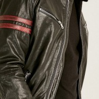 Мужская кожаная куртка Derimod ME-5638060768 - Мужские кожаные куртки